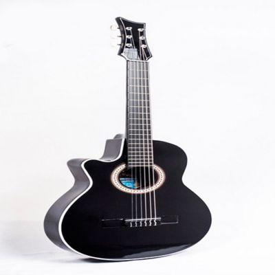 Guitarra Zbk Acústica Zurda Boquete Negro