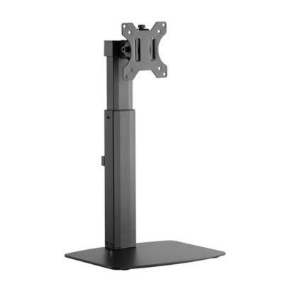 Soporte para Monitor de Hasta 32 Pulgadas con Pedestal y Brazo Sencillo Flexigas
