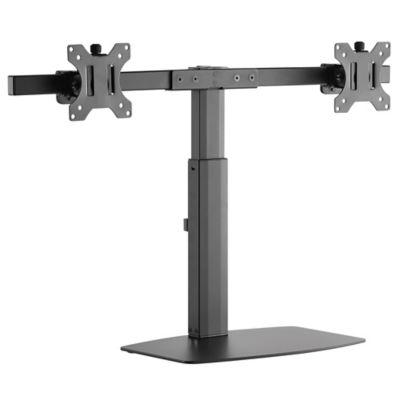 Soporte para Monitor de 27 Pulgadas con Pedestal y Brazo Doble Flexigas