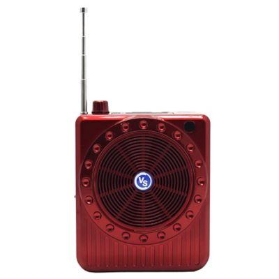 Parlante Fm Bluetooth Usb Aux Microsd Genérico