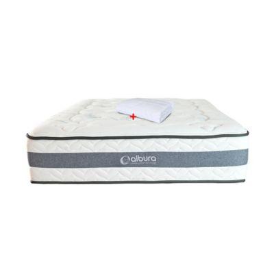 Colchón Balance Albura Doble 39x140x190 Blanco
