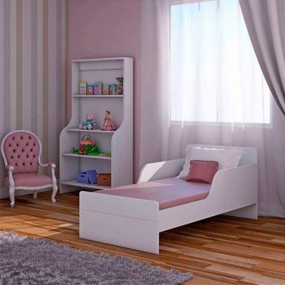 Mini Cama Jardin 53.6x64x74.5 Blanco Satinado