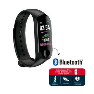 Reloj Manilla Deportiva Bluetooth Display Color