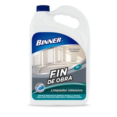 Limpiador Intensivo Fin de Obra 1 Galón