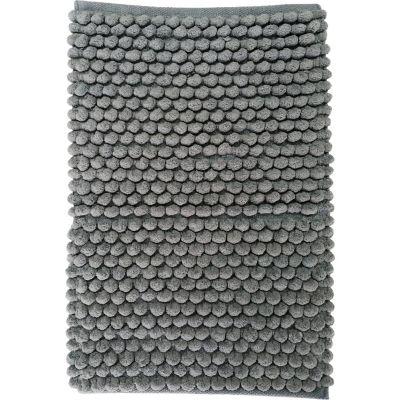 Tapete Baño Algodón Cubes 40x60 Gris