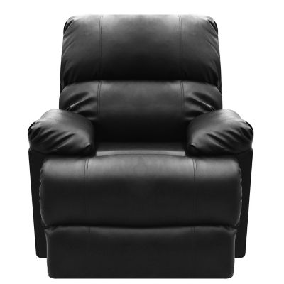 Reclinable Estática Relax Cuero Sintético 85x85x90 Negro