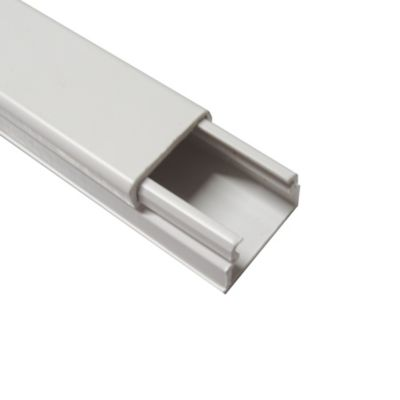 Paq x 120 Canaletas 20x12.5 con Cinta Adhesiva Blanco