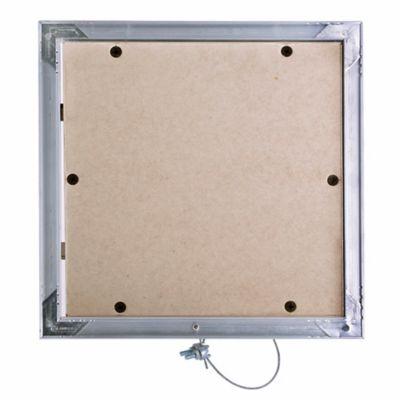 Tapa Regular Invisible 30X30 Drywall