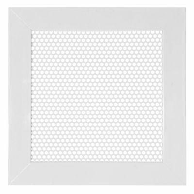 Rejilla Ventilación Aluminio Perforada Redondada 30X30