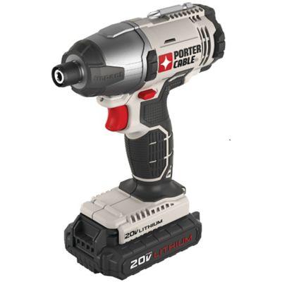 Destornillador de Impacto 1/4 Pulg 20 V