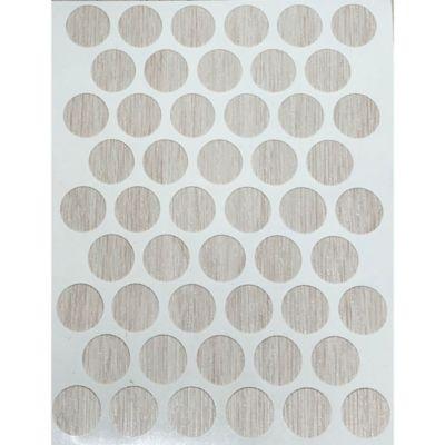 Caja x 2500 Tapatornillos Adhesivos de 14 mm Kallio
