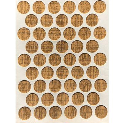 Paq x 50 Unds Tapatornillos Adhesivos de 14 mm Heura