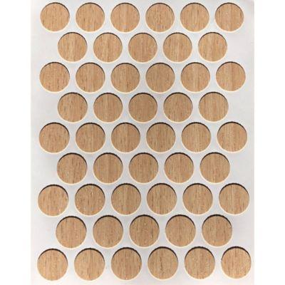 Caja x 2500 Tapatornillos Adhesivos de 14 mm Tribeca