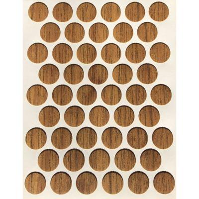 Paq x 50 Unds Tapatornillos Adhesivos de 14 mm Mácula