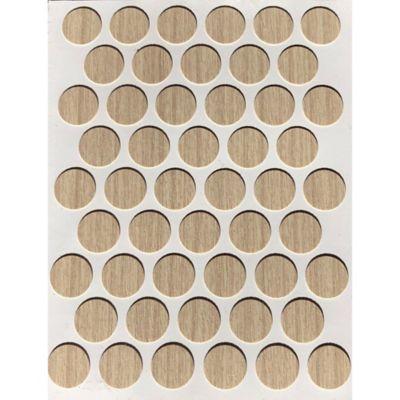 Paq x 50 Unds Tapatornillos Adhesivos de 14 mm Arena