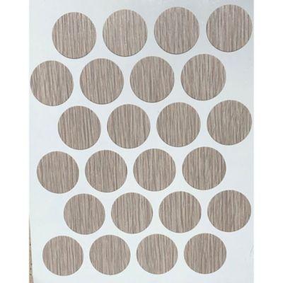Paq x 24 Unds Tapatornillos Adhesivos de 20 mm Chantilly