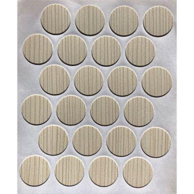 Paq x 24 Unds Tapatornillos Adhesivos de 20 mm Boscus