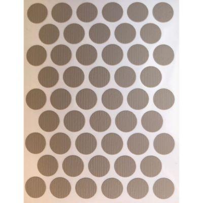 Caja x 2500 Tapatornillos Adhesivos de 14 mm Ambar