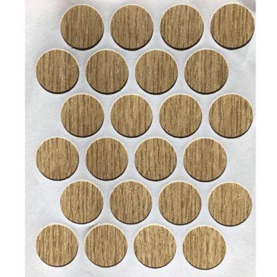 Paq x 24 Unds Tapatornillos Adhesivos de 20 mm Rustic