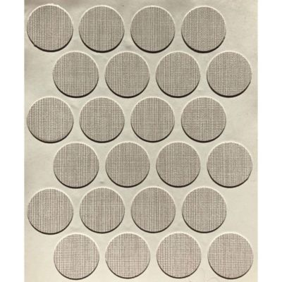 Caja x 1200 Tapatornillos Adhesivos de 20 mm Lino