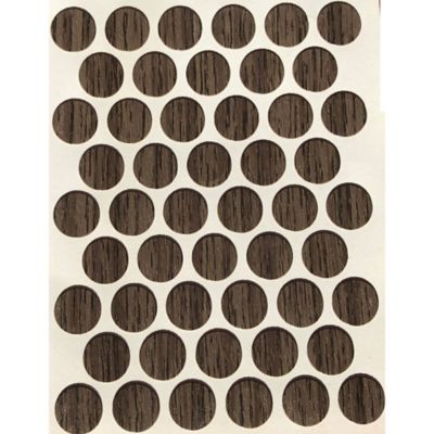 Caja x 2500 Tapatornillos Adhesivos de 14 mm Cenizo