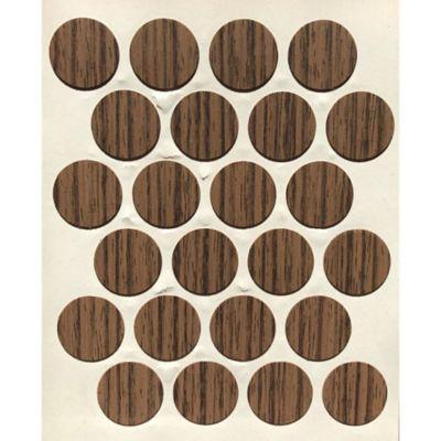 Caja x 1200 Tapatornillos Adhesivos de 20 mm Nuez