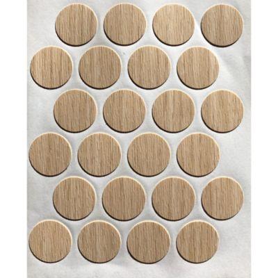 Caja x 1200 Tapatornillos Adhesivos de 20 mm Arena