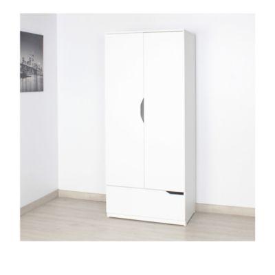 Armario Vega 180.7x80x49.8cm Blanco M01531Cl-Bl