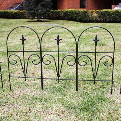 Minicerca Decorativa para Jardin de 56 x 77 cm