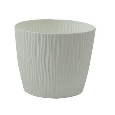Maceta Sandy 12.5 cm Blanco Garden