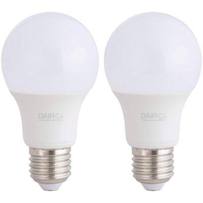 Pack2 Foco Led A60 E27 7.5w Luz fría