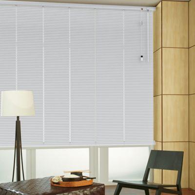 Persiana Horizontal De Aluminio 25  mm Color Natural A La Medida Ancho Entre 120.5-130  cm Alto Entre  240.5-260 cm