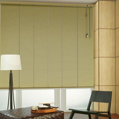 Persiana Horizontal De Aluminio 25  mm Color Golden A La Medida Ancho Entre 100.5-110  cm Alto Entre  260.5-280 cm
