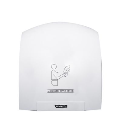 Secador de Manos 16 M/S Operado por Sensor 110 Voltios Blanco