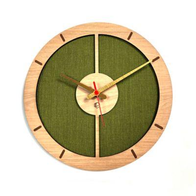 Reloj de Pared 009 34x34 cm Madera Carvalho - Lima