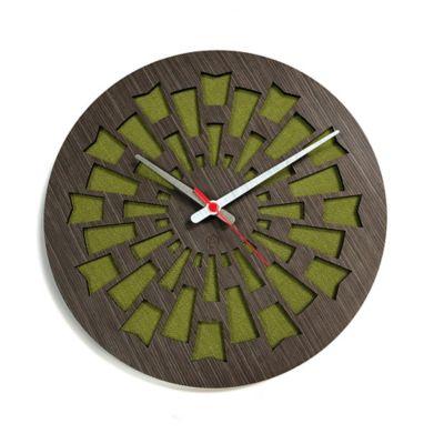 Reloj de Pared 003 34x34 cm Madera Garnica - Lima