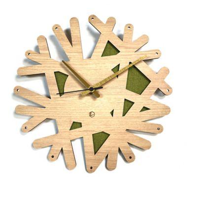Reloj de Pared 006 34x34 cm Madera Carvalho - Lima