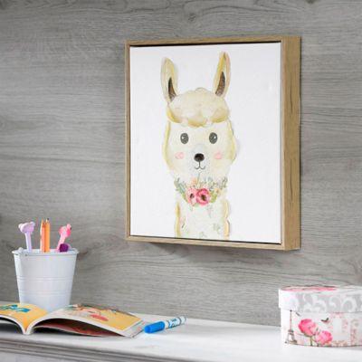 Canvas Llama Kid 32x32 cm