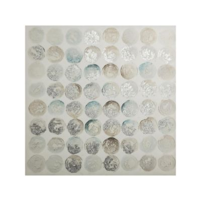 Canvas Round Abstract 80x80 cm