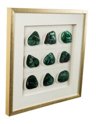 Cuadro Piedra Verde 63x63 cm