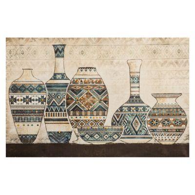 Cuadro Canvas Jarras Africa 90x60 cm