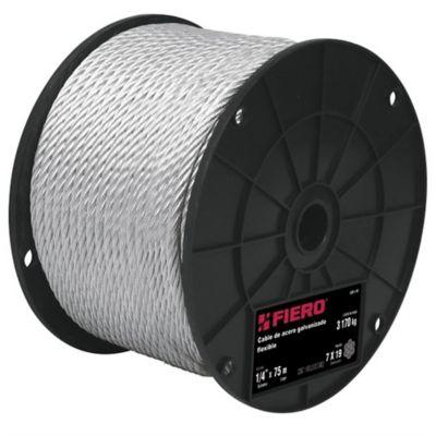 Cables de Acero 7x19 Hilos 75m 1520kg