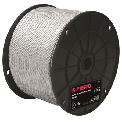 Cables de Acero 7x19 Hilos 75m 2540kg
