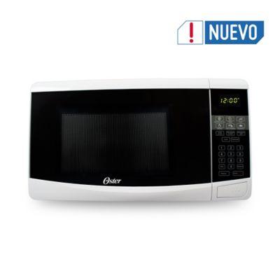 Microondas 20 Litros Digital Blanco con Botón Abrir Puerta 120v