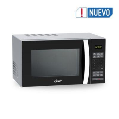 Microondas 25 Litros Digital Gris Espejo con Manija Cromada con Parrilla 120v 60hz