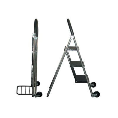 Carretilla/Escalera de Aluminio