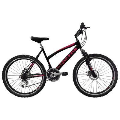Bicicleta Dama R26 21Vel Shimano Tipo Moto Negro