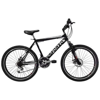 Bicicleta R26 21Vel Shimano Integrado Negro