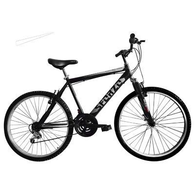 Bicicleta Todoterreno R26 18Vel + Suspensión Negro