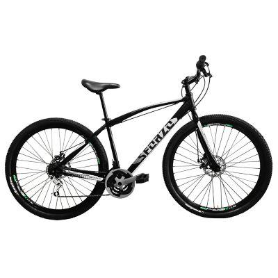 Bicicleta R26 18Vel Frenos Disco Negro